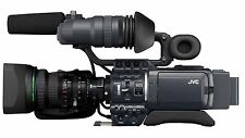 JVC GY-HD100 video camera, like NEW, only 38 hours drum with pro case Bundle