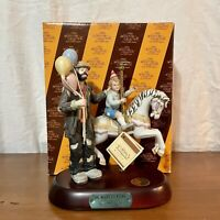 "The Emmett Kelly Jr Signature Collection ""The Merry-Go-Round"" Collectable Circus"