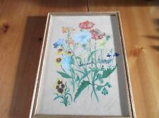 VINTAGE 40s NIAVE WATER COLOUR PAINTING