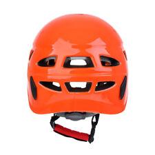 Safety Tree Rock Climbing Caving Construction Helmet   Hard Hat Orange