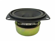 """NEW 4"""" Woofer Speaker.4 ohm.Shielded Replacement.Pin cushion frame.driver.4inch"""