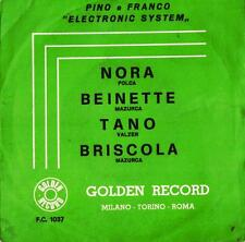 "DISCO 45 GIRI    PINO & FRANCO -  "" ELECTRONIC SYSTEM """