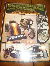 1973 HONDA CB750 CAFE RACER TURBOCHARGED SIDECAR  ***ORIGINAL ARTICLE***