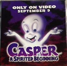 CASPER THE GHOST - A SPIRITED BEGINNING - 1997 VIDEO RELEASE  PROMO BUTTON