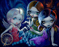 FAIRY ART PRINT - The Three Fates by Jasmine Becket-Griffith Gothic Poster 22x27