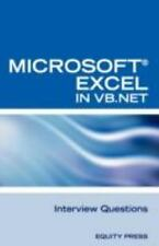 Excel in Vb Net Programming Interview Questions : Advanced Excel Programming...