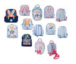 Peter Rabbit Boys Girls Backpack New