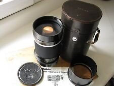 Early Nikon 1000mm f/11 Reflex Nikkor Mirror Lens  **Beautiful Glass** EXC+++