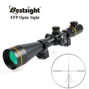 Bestsight 5-15X50 FFP Golden Optics Riflescope Side Parallax Tactical Hunting