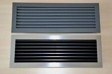 16 varianti BOCCHETTE ARIA CAMINO ARIA GRIGLIA in ACCIAIO di ventilazione aerazione