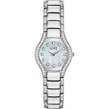 Citizen Eco-Drive Women's EW9870-81D Normandie Crystal Accents Watch