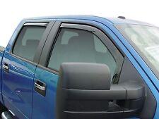 2004 - 2008 Ford F150 Super Crew Bug Shield & In-Channel Wind Deflector Shades