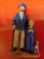 "1983 Looking out to Sea"" Norman Rockwell Figurine 3 3/4"""