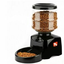 5.5L Automatic Pet Feeder With Voice Message Recording and LCD Screen Large Gift