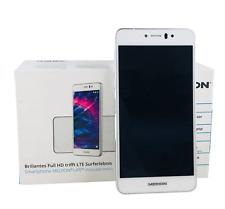 Medion X5020 Smartphone (5 Zoll) Display, 13 MP, Octa-Core, Dual-SIM, 32 GB Weiß