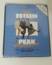 Self Esteem and Peak Performance 6 Cassette Tape Audio Book Jack Canfield