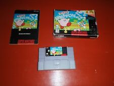 Kirby's Avalanche (Super Nintendo Entertainment System, 1995) -Complete