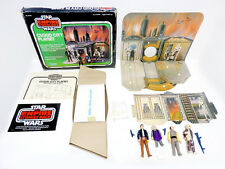 STAR WARS ESB CLOUD CITY PLAYSET COMPLETE W/ FIGURES IN BOX 1980 KENNER VINTAGE