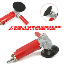 4 Inch Water Jet Pneumatic Grinder Air Polisher Marble Jade Stone Sanderwrench