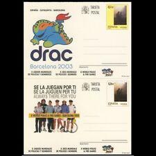 España Spain Entero Postal ( tarjeta ) 168/69 2003 Bomberos firefighter Football