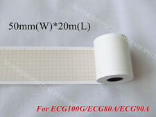 Thermal paper for ECG EKG Electrocardiograph ECG100G Print Paper 50mm*20m