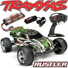 Traxxas Rustler XL-5 GREEN RTR RC Truck w/Battery & Quick Charger FREE SHIPPING