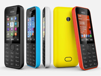 NOKIA 208 BLACK LOCKED UNLOCKED MOBILE PHONE GRADEs