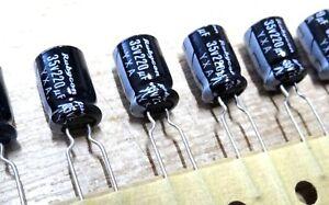 20x Rubicon 220uf 35v electrolytic capacitor YXA 11mm x 7mm 105'C