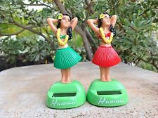 New  *SOLAR POWERED* Hawaiian  Dashboard Hula Doll Dancer Girl Posing