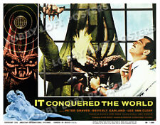 IT CONQUERED THE WORLD LOBBY SCENE CARD # 5 POSTER 1956 LEE VAN CLEEF