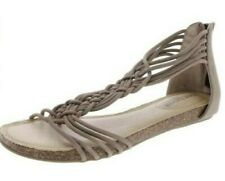 Adam Tucker by Me Too Cali Nubuck Open Toe Casual Ankle Strap Sandal size 6M NEW