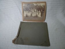 Vintage 1927 Photograph Album – North Yorkshire Dales Moors