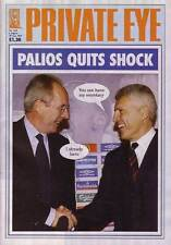 PRIVATE EYE 1112 - 6 - 19 Aug 2004 - Sven Goran Eriksson Mark PALIOS QUITS SHOCK