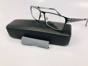 New Wide Guyz Black BOSS Eyeglasses 58mm for The Stylish Large Man