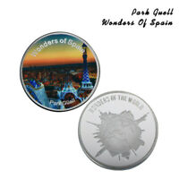 WR Calidad Plata Desafío Moneda España Parque Güell Conmemorativa colección