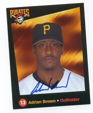 Autographed Photo of Pirates Adrian Brown