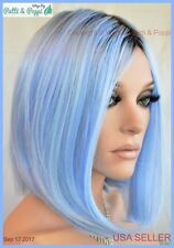 HEAT SAFE WIG ROOTED OUT OF THE BLUE  DARLING SEXY HOT US SELLER 2036