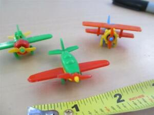 mini plastic airplanes planes model small cake topper decoration German Germany