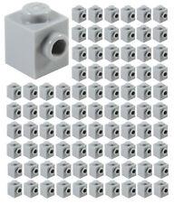 ☀️Lego 1x1 Light Bluish Gray Brick Modified x100 Part Piece Bulk Lot #87087