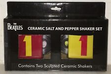 The Beatles, 1's, Boxed Ceramic Salt & Pepper Shakers, Record Style