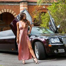 Wicked Weasel 580 Sophia Maxi Dress Pale Pink