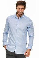 DSTREZZED - Hemd Oxford Herren hellblau Designer Neu: 79€