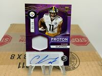 2020 Panini Elements Proton Patch Chase Claypool Auto /99 Steelers #PA-CC
