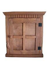 Handmade Arts & Crafts Window Box  Wood Wall Cabinet