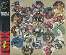 1993 CLASSIC SPORTS COINS SHEET OF 20