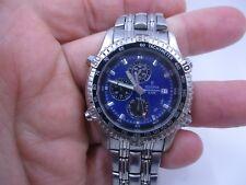 Men's FESTINA Multi Function Alarm Chronograph Blue Dial Watch 6597 *11