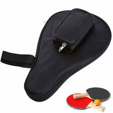 Waterproof Table Tennis Racket Ping Pong Paddle Bat Bag Pouch with Ball Case Hot