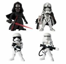Set 4 Pieces Star Wars Kylo Ren Captain Phasma Toy Figure Doll Series 3 New