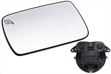 2009-2013 Ford Flex Left Driver Side View Power Heated Mirror Glass & Motor OEM