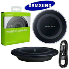 NEW QI Wireless Charger Pad Dock Plate + CABLE For Samsung Galaxy S6 S7 S8 Edge